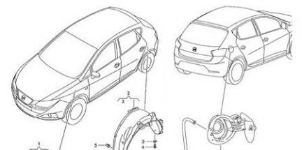 Primi disegni della nuova Seat Ibiza