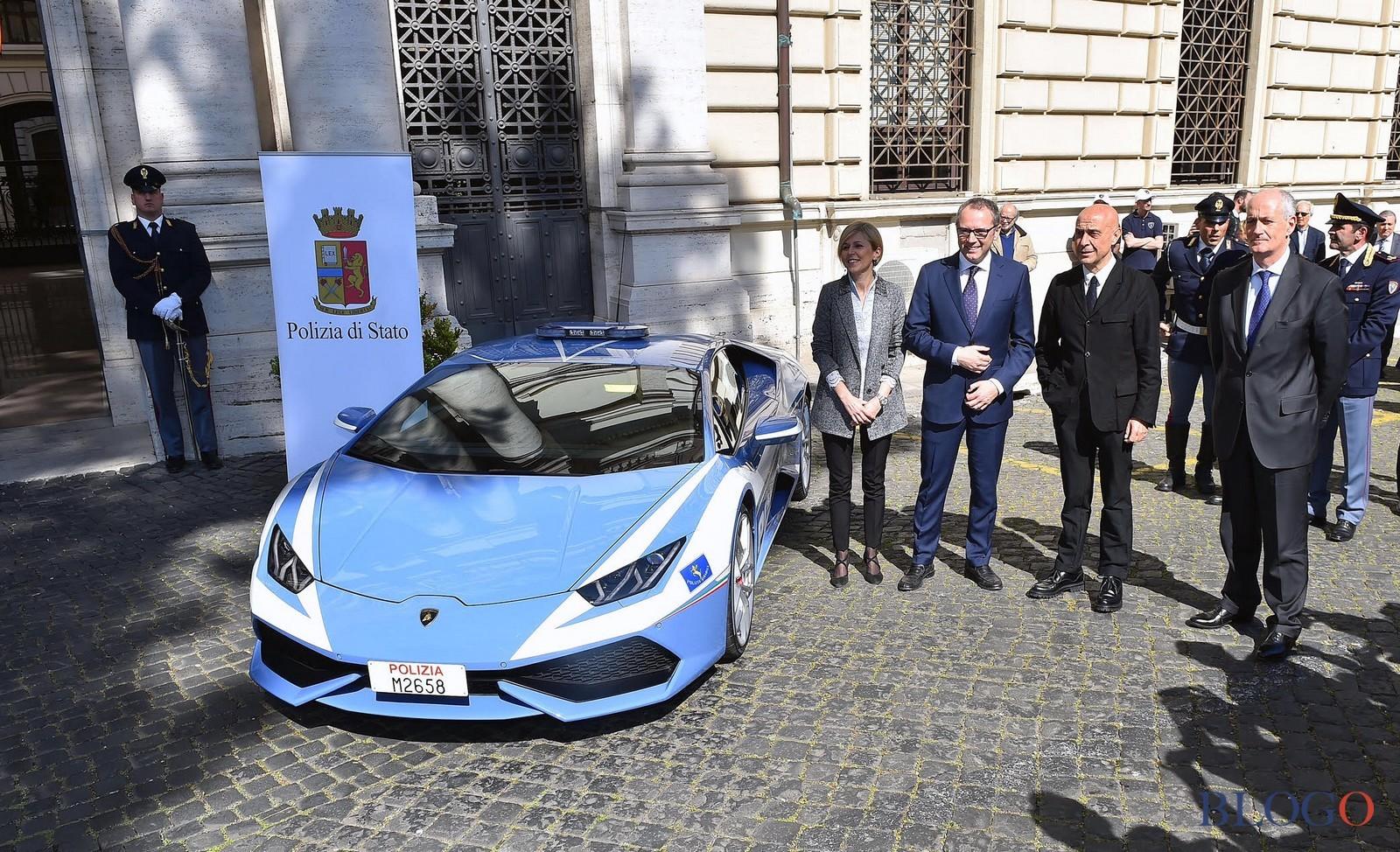 Lamborghini Huracn  Polizia di Stato
