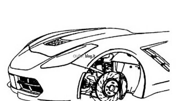 Chevrolet Corvette 2013: un disegno rivela il frontale