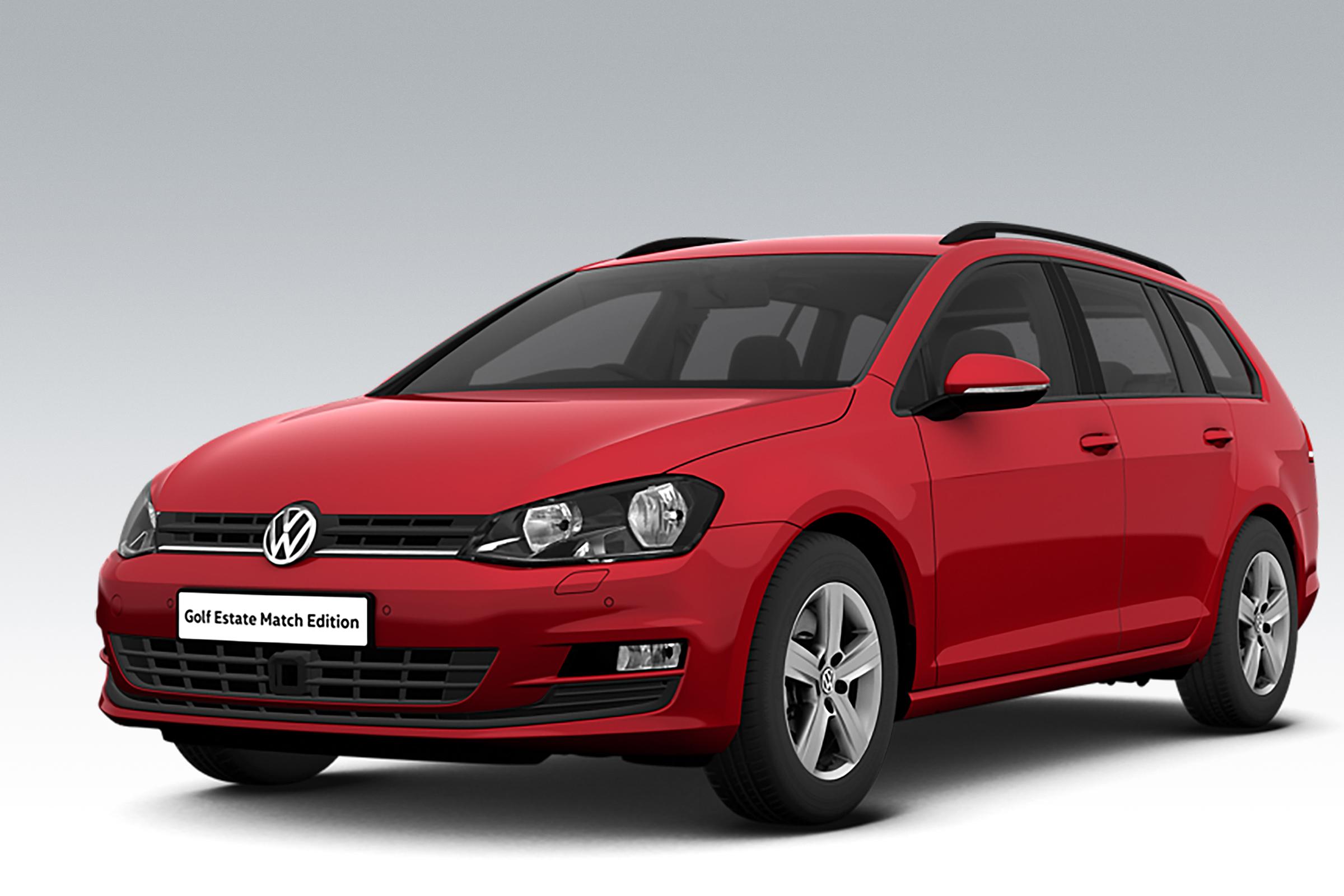 New Volkswagen Golf Estate Match Edition Announced