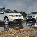Nissan Murano Vs Audi Q5 Car Group Tests Auto Express