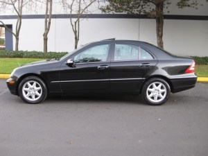 2003 MercedesBenz C240 4MATIC 4WD