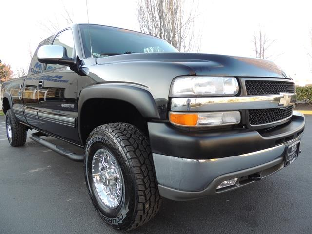Four Door 2500hd 2002 Chevrolet Silverado 4x4