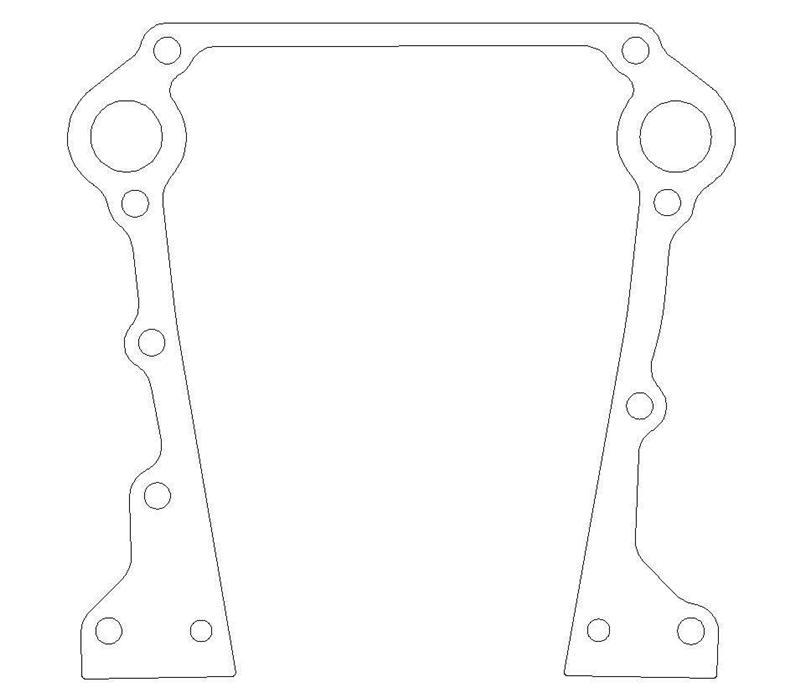 Cometic C5626-018 in our Timing Cover Gaskets Deptartment