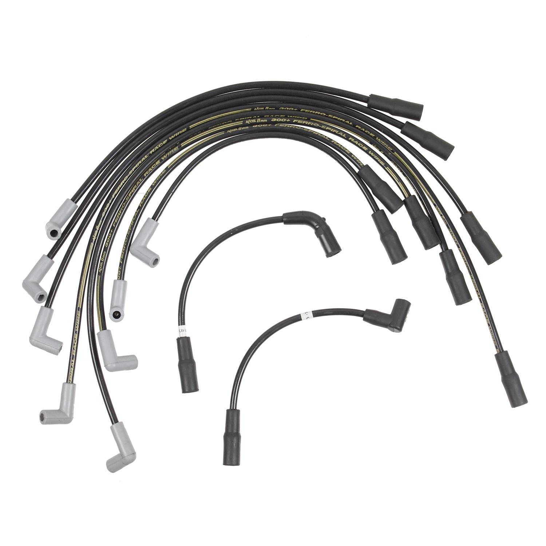 Accel 7137 Custom Fit 300+ Race Spark Plug Wire Set