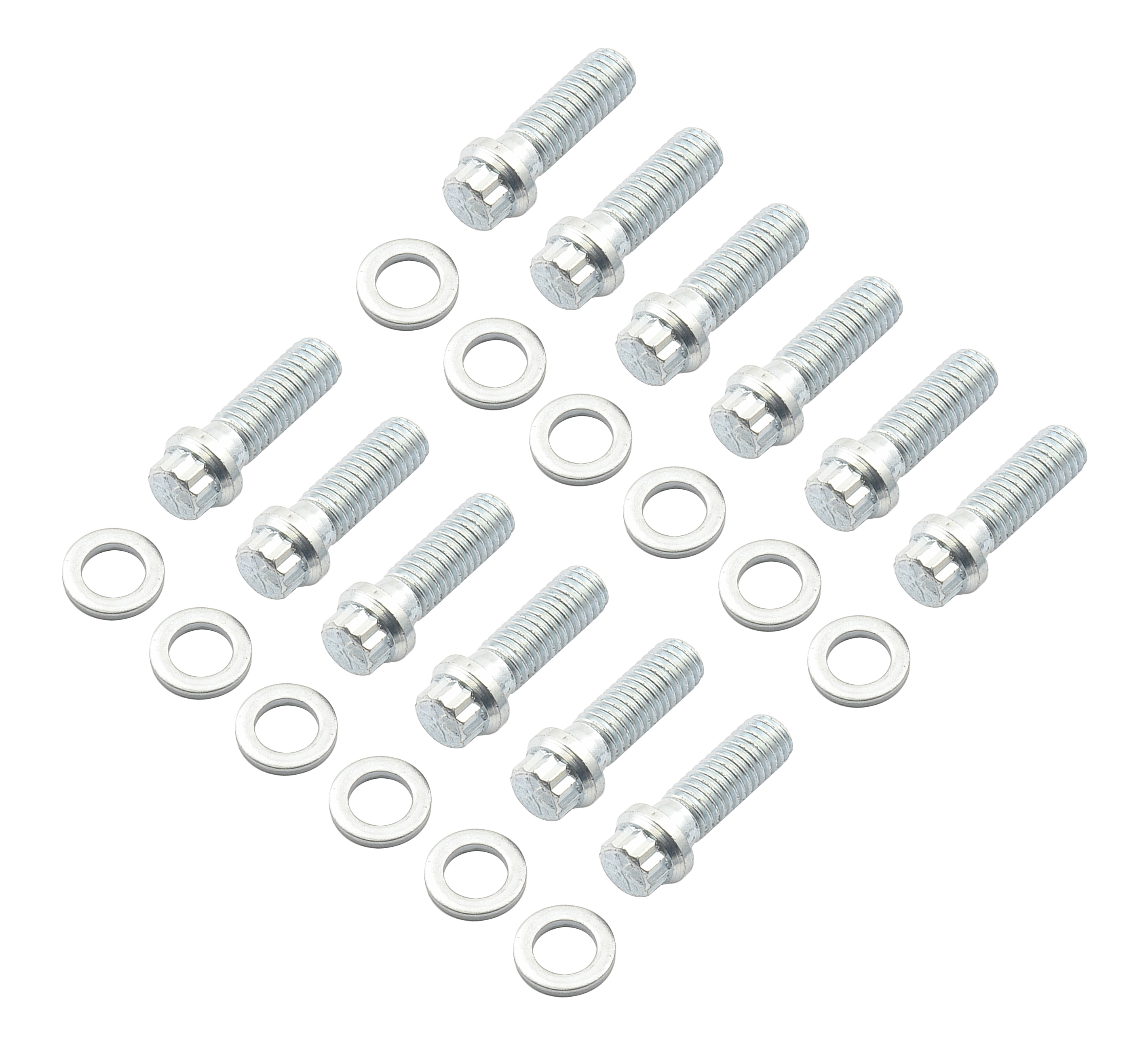 Mr Gasket Intake Manifold Bolts 12 Point Small Head