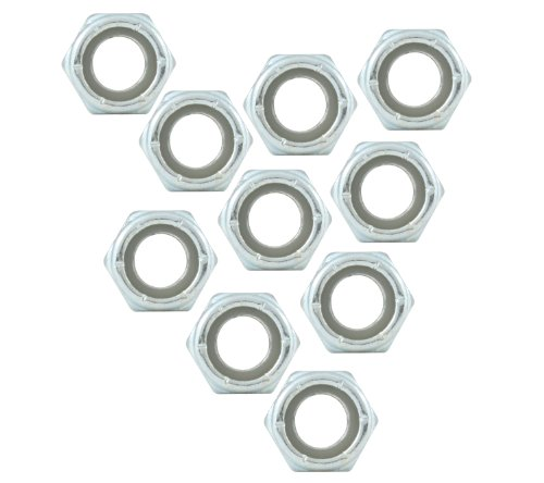 Allstar Performance 16011-10 All Nylon Insert Nuts 5/16-18