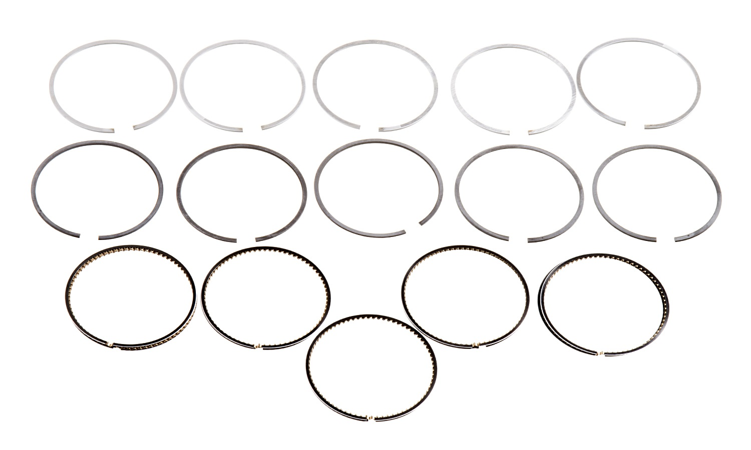 Hastings 2c 5 Cyl Ring Set