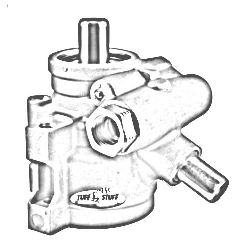 Tuff Stuff Performance 6170ALP-4 Power Steering Pump