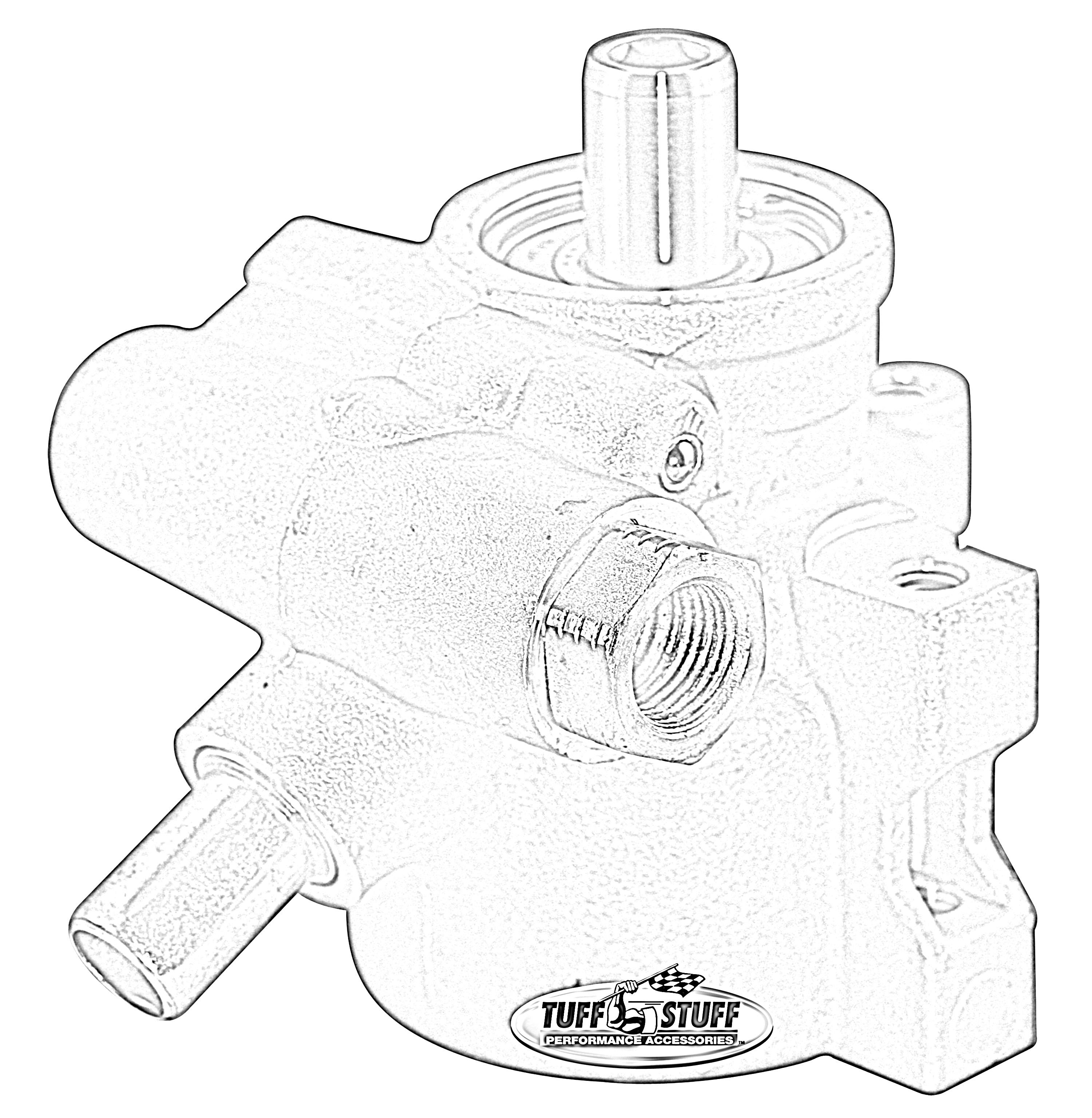Tuff Stuff Performance 6175AL-4 Power Steering Pump