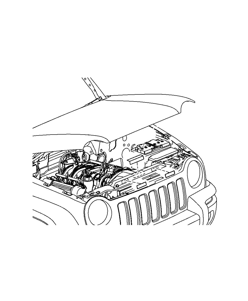Warn Upper Brkt Jeep Ds