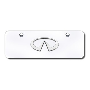 Automotive Gold INFCCM INFINITI Chrome/Chrome MPLATE
