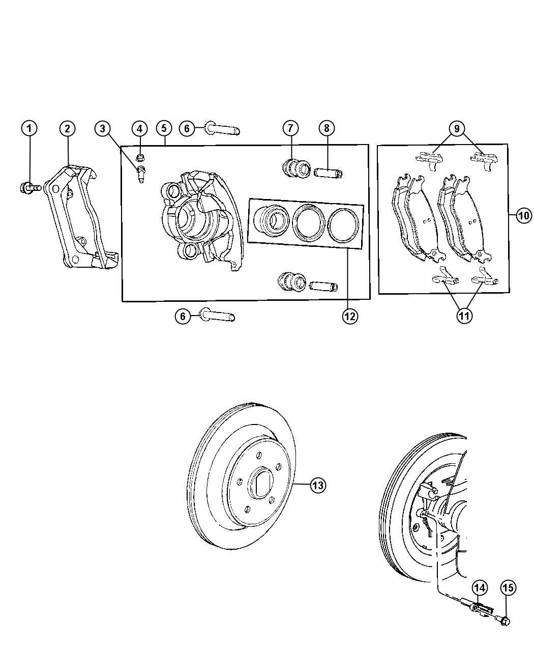 Mopar Performance Ac Mopar Rotor Brake