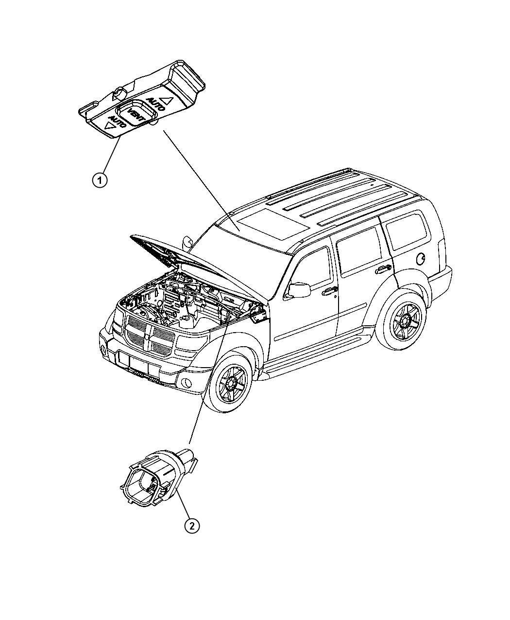 Mopar Ab Brake Fluid Level Sensor