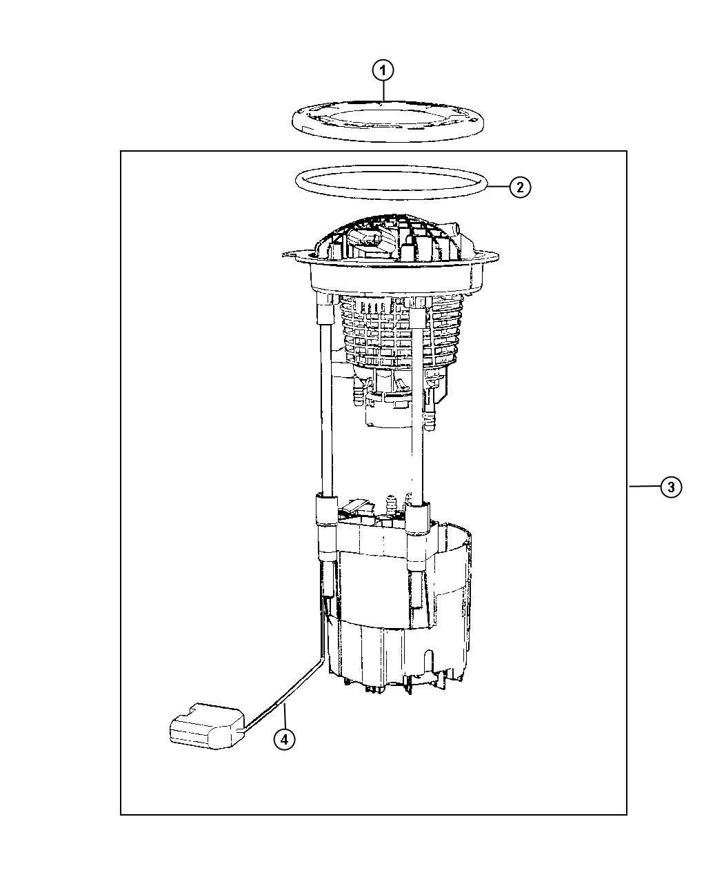 Mopar Performance Rl Ab Mopar Module Fuel Pump L