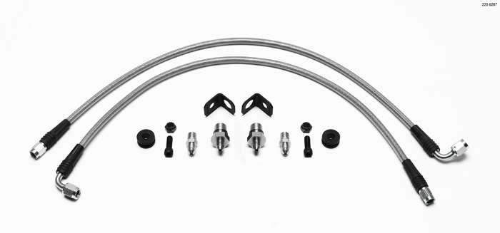 Wilwood 220-9287 Flexline Kit, Front,Mitsubishi EVO VIII