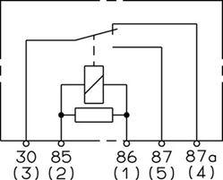 Hella 931680011 12V 20/40 Amp SPDT RES Solid-State Relay