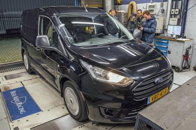 Ford Transit Connect 1.5 EcoBlue - Op de Rollenbank
