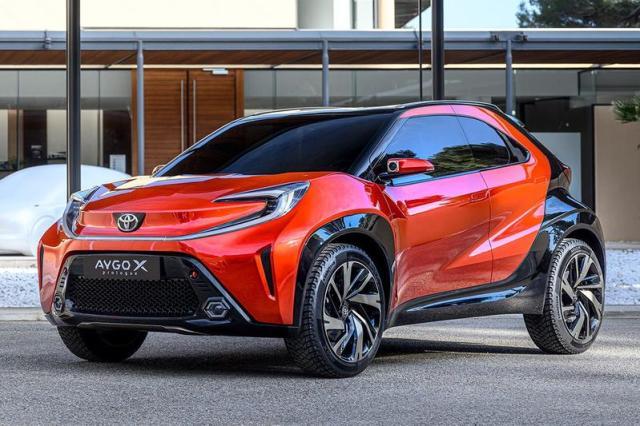 Toyota Aygo X Prologue blikt vooruit op nieuwe Aygo