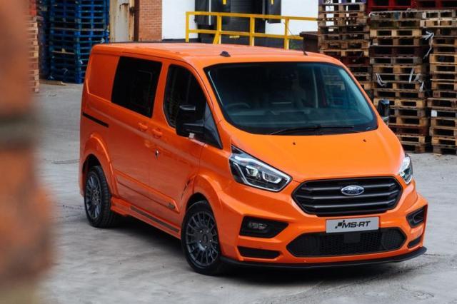 Ford Transit Custom komt in 2023