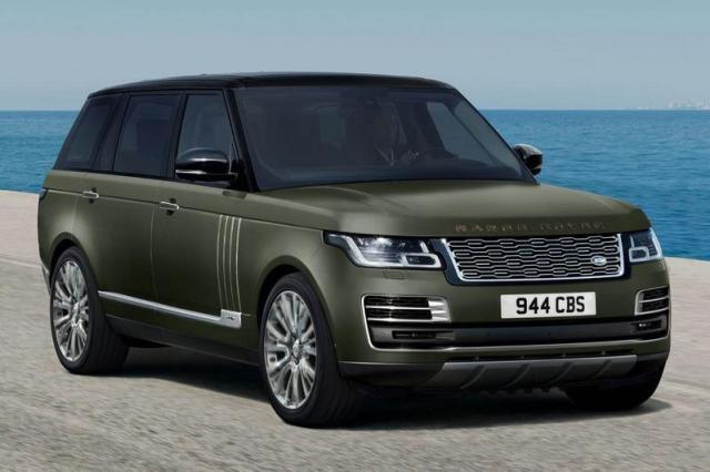 Aan de top: Range Rover SVAutobiography Ultimate