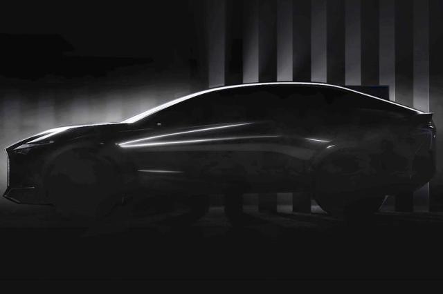 Lexus laat nieuwe concept-car zien