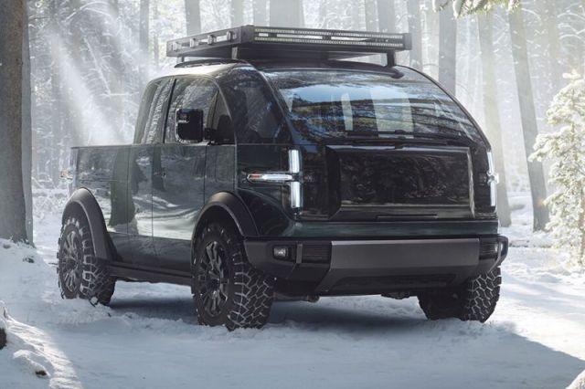 Canoo pick-up wordt Zwitsers zakmes op wielen