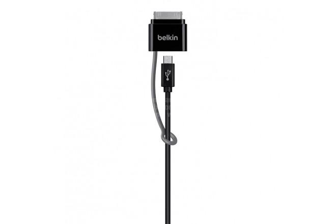 Cable BELKIN USB/ MicroUSB/30Pin Ktronix Tienda Online