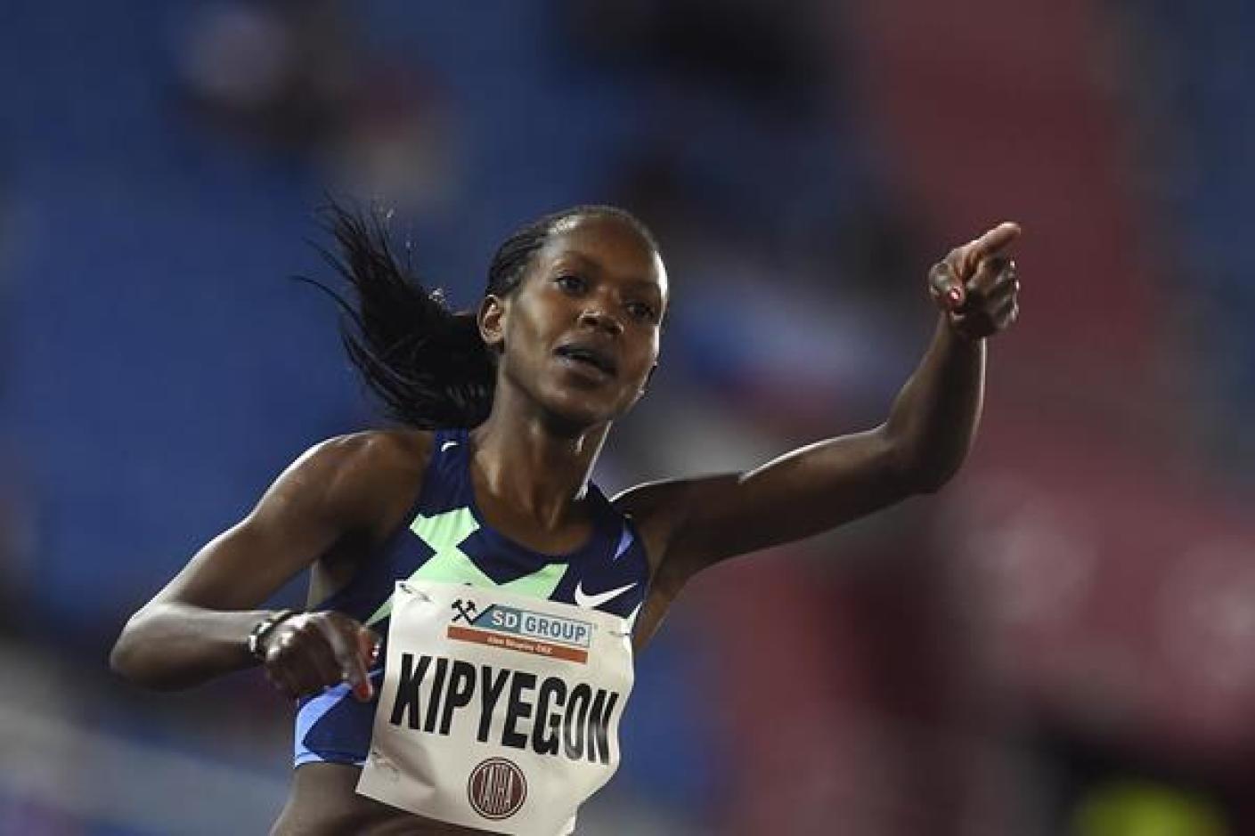Faith Kipyegon gana los 1500m en Ostrava (AFP / Getty Images)