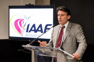 Image result for IAAF president Lord Coe