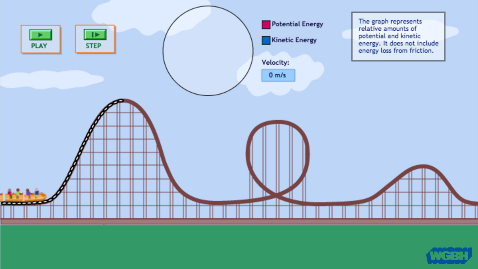 Kinetic Energy And Potential Energy Roller Coaster