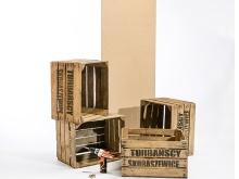 Schreibtisch aus Obstkisten bauen - Ratgeber BAUHAUS