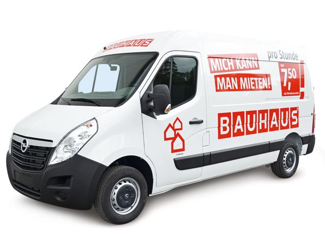 Der Miettransporter Für Selbstfahrer  Bauhaus
