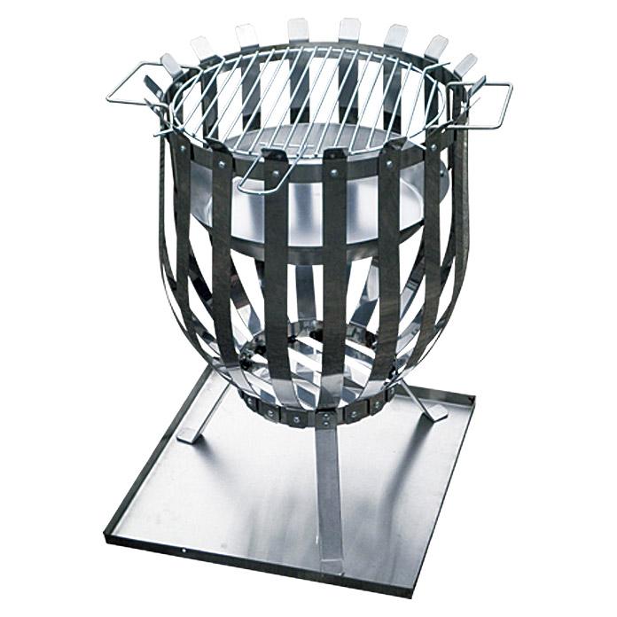 Grillstar GrillFeuerkorb Edelstahl Durchmesser 35 cm