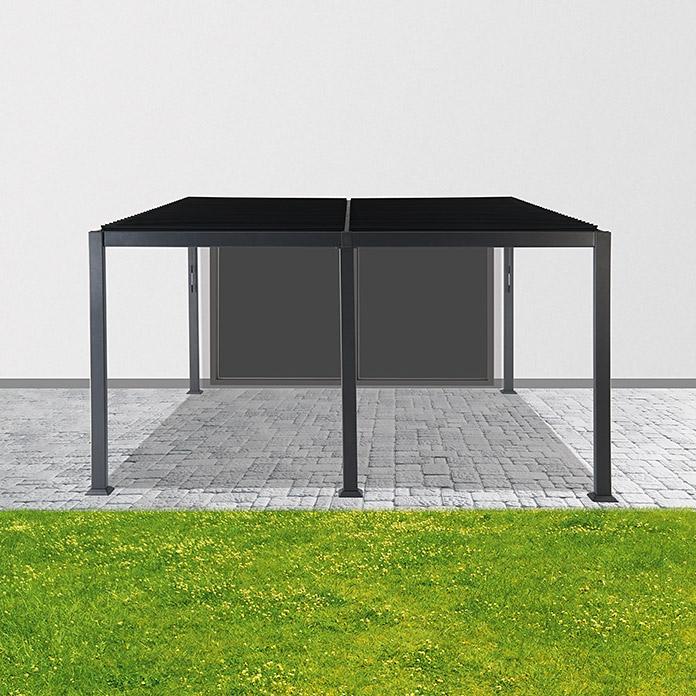 Palma Pavillon Xm Anthrazit Alu Dach Sunfun