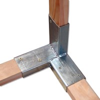 Holzverbinder-Set (Stahl, Verzinkt, 8 Stk.) | BAUHAUS