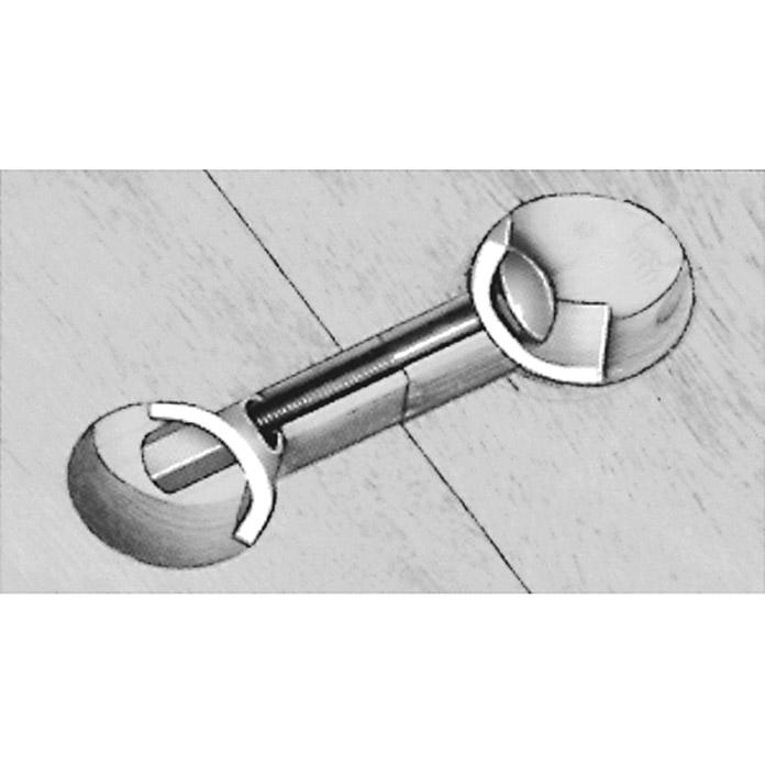 Stabilit Elemento de unin de encimera Largo 65 mm