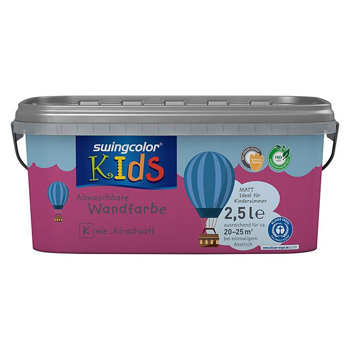 swingcolor KIDS Wandfarbe (Kirschsaft, 2,5 l, Matt) 5870 - null