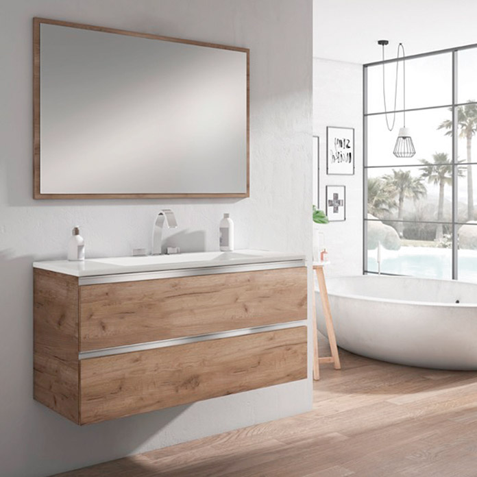 Mueble Lavabo Affordable Miroytengo Pack Mobiliario Bao