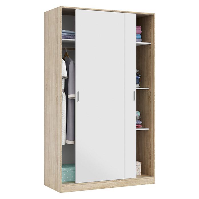 Armario para ropa con puertas correderas L x An x Al 50