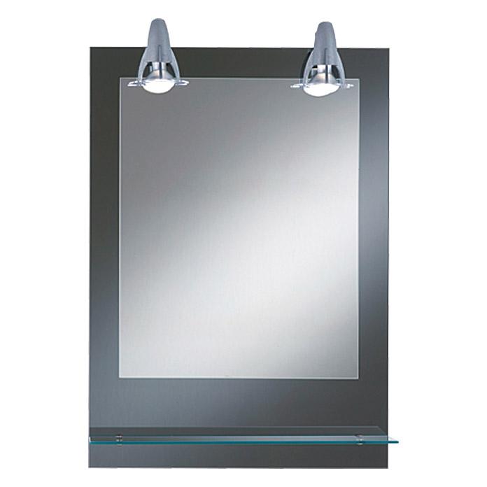 KristallForm Lichtspiegel Pierre 50 x 70 cm Glasablage Energieeffizienzklasse A bis E