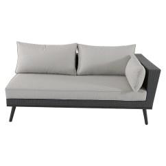Bauhaus Sofas Cama Ashley Sectional Sofa Reviews Sunfun Elemento Lounge Verena Gris 87 X 162 65 Cm 8303 Null