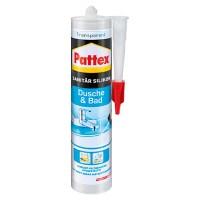 Pattex Sanitr-Silikon Dusche&Bad (Transparent, 300 ml ...