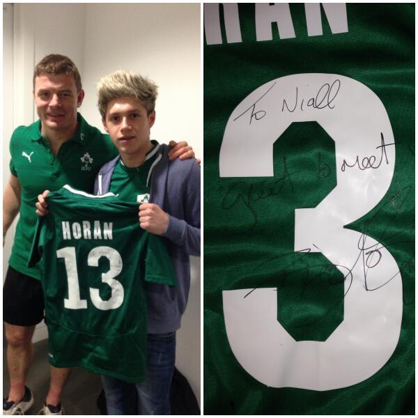 Niall Horan Green Jersey