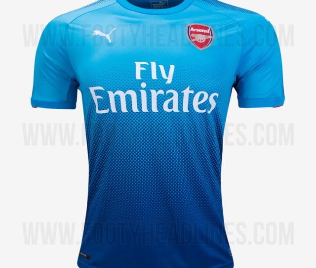New Arsenal Jersey