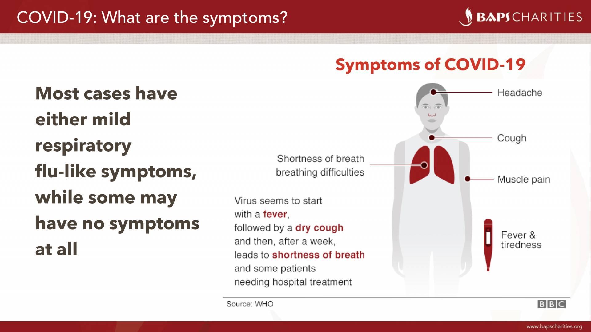 BAPS Charities • Coronavirus (COVID-19): Public Health Awareness ...