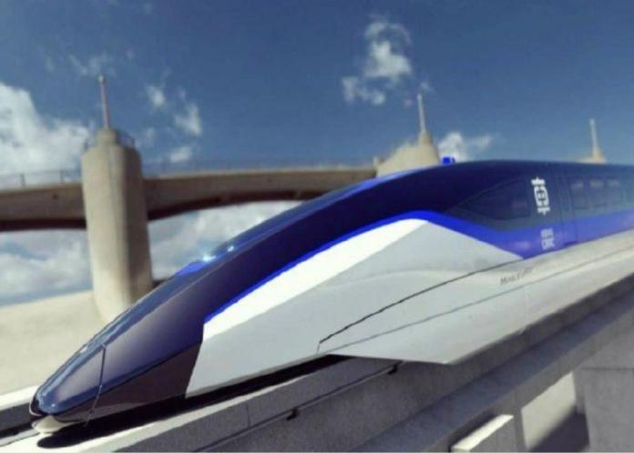 China's maglev train is expected to be put into mass production this year.