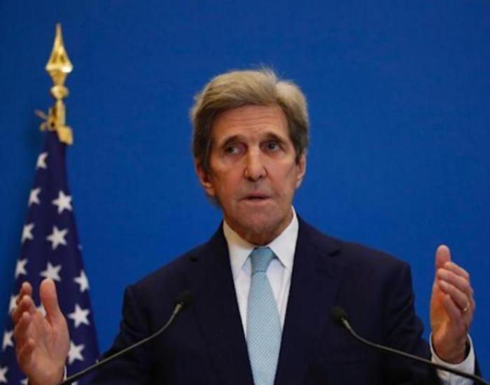 美国气候问题特使凯里(Kerry)。