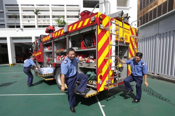 【政府請人】助理消防區長月薪8萬 操fit消防員 | 職趣事 | 巴士的報