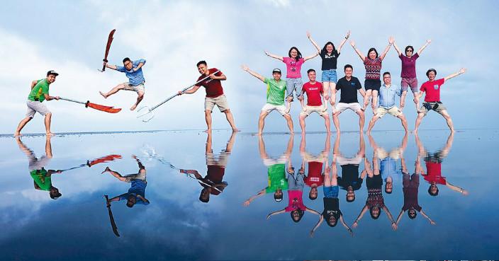 馬來西亞天空之鏡 穿鮮色衫影爆趣倒影照 | 旅遊 | 巴士的報